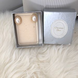 Jewelry - Authentic vintage Christian Dior earrings